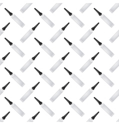 Clue Seamless Pattern on White vector