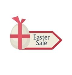 Easter Sale arrow vector image