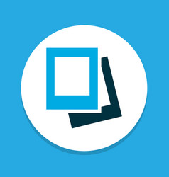 Gallery icon colored symbol premium quality vector