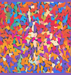 multi colored confetti pattern vector image