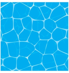 Pool or tropical sea water texture vector image