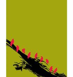 birds77-2v vector image