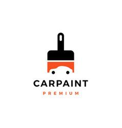 car paint logo icon vector image