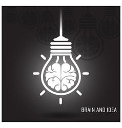 Creative brain Idea concept vector image