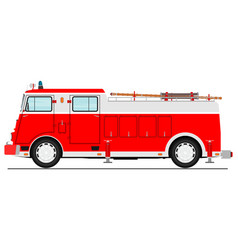 fire truck vector image