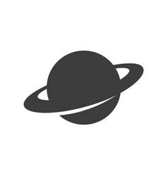 saturn icon image vector image