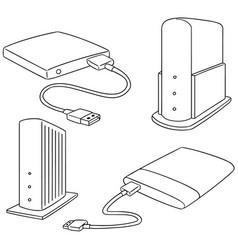 Set of storage device vector