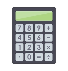 Mathematics business calculator technology vector image vector image