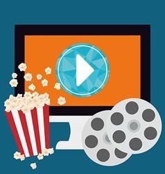 Movie digital design vector image vector image