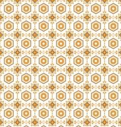 seamless pattern retro vector image