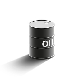 Barrel oil Stock vector image vector image