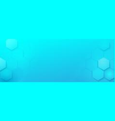 abstract geometric hexagons technology digital vector image