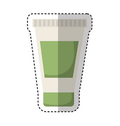cream bottle spa product vector image