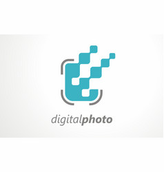 digital photographing agency album art photo vector image