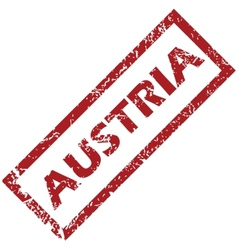 New Austria rubber stamp vector