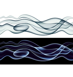 Smoke pattern vector image