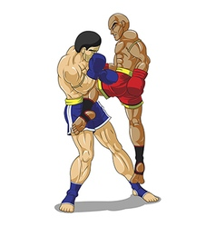 Muay thai vector