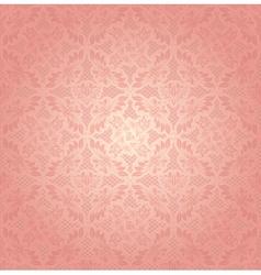 Decorative pink ornament vector image