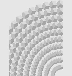 low contrasting gray abstract background with 3d vector image