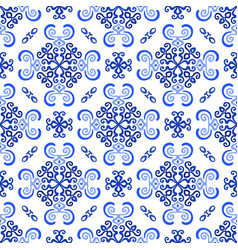 white blue background luxury weave pattern vector image vector image