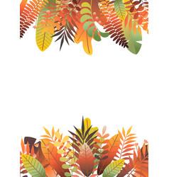 Autumn frame 2 vector