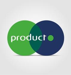 biology logo vector image