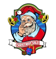 Christmas Sale Badge vector