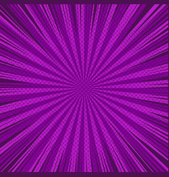 Comic page purple background vector