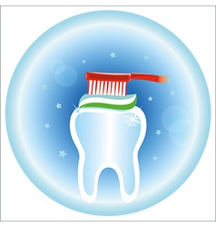 Dental care symbol icon vector