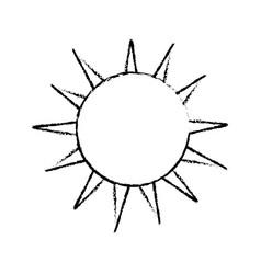 line nice light sun image vector image