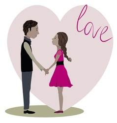 love story three vector image