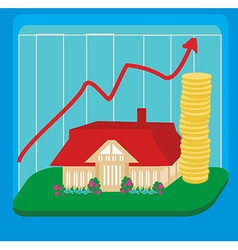 Unstable housing market vector