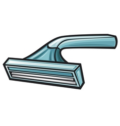 Disposable shaving razor vector image vector image