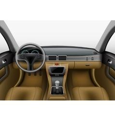 Car interior light vector