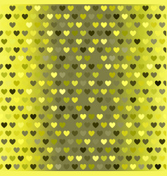 heart pattern seamless sparkling background vector image vector image