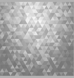 abstract gray triangle shape background vector image