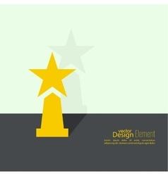 Award star winner vector