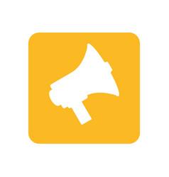 Bullhorn social media vector