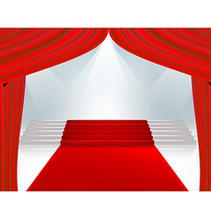 curtain789 vector image
