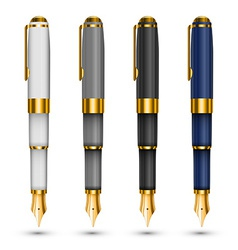 Expensive pens vector