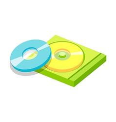 Icon cds vector