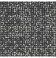 Polka dot Geometric monochrome abstract hipster vector