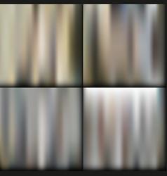 set of dark gradient mesh background vector image