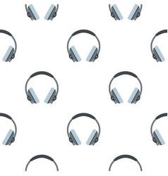 headphone pattern seamless vector image vector image