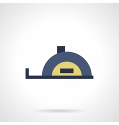 Tape measure flat color icon vector image