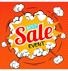 Best sale event vector image