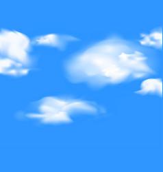 Cloud sky vector