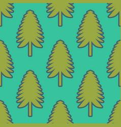 fir pattern vector image