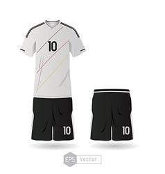 Germany team uniform 01 vector image