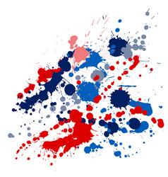 Graffiti spray stains grunge background vector